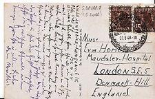 Genealogy Postcard - Ancestor History - Homo?? - Denmark Hill - London  U2612