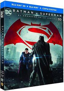 BATMAN V SUPERMAN EL AMANECER DE LA JUSTICIA BLU RAY 3D + BLU RAY ( SIN ABRIR )
