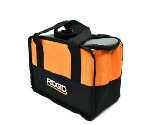 "RIDGID Soft Sided Heavy Duty Canvas Contractor's Tool Bag Size 11"" x 8"" x 6"""