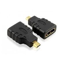 Alta velocità micro HDMI (Tipo D) a HDMI (tipo A) - Adattatore per la connessione Capanno CHIUSO DA.