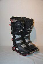 Original Bottes Moto Motocross  cuir HEBO NEOX noir gris rouge T : 41 neuf
