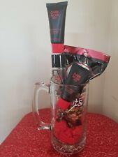 Happy Father's Day / Birthday Men Dark Noir Red Fresh & Clean Gift Set