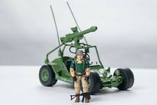 Vintage GI JOE - VEHICLE -1985 AWE Striker w/ Driver Crankcase - HASBRO