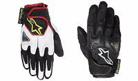 Alpinestars Scheme Glove - Black / Fluo Short Urban Motorcycle Reinforced Gloves