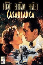 Casablanca (DVD, 2000) RARE HUMPHREY BOGART BRAND NEW ORIGINAL SNAPCASE