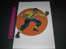 MARVEL COMICS SUPER-HEROES POWER-MAN POSTER PIN UP OLD SCHOOL STYLE