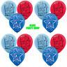 "9PCS X 12"" Sonic The Hedgehog Sega Latex Balloon Birthday Party"