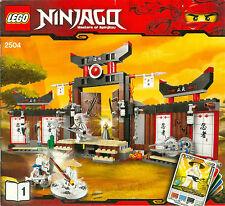 LEGO Bauanleitung Teil 1 von 2 zu Ninjago 2504 Masters Of Spinjitzu