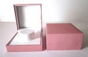 12 x PINK BANGLE Charm Bracelet Jewellery Gift Box-ONLY £2.40each