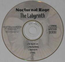 Nocturnal Rage - The Labyrinth 4 track ep -  original 2001 U.S. promo cd