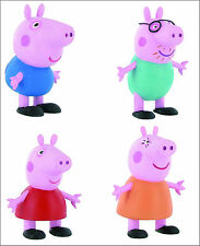 Official Bullyland Comansi Peppa Pig Figures Toy Figure Cake Topper Toppers