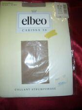 Elbeo Carissa finamente medias talla 38-40 Silk 30 los collant Tights OVP