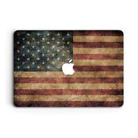 USA Flag Macbook Case Cover for 12 Pro 13 15 Retina Air 11 12 13 15 2018 2019