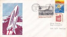 3 février 1984 navette spatiale Cover Kennedy Space Center annuler