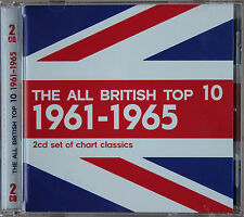 THE ALL BRITISH TOP 10  1961-1965    2CD