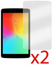 Hellfire Trading 2x Screen Protector Cover Guard for LG G Pad V480 V490 8.0