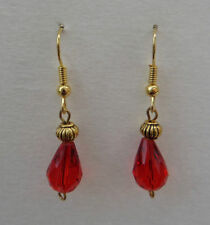 Alloy Yellow Gold Plated Round Costume Earrings