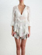 ZIMMERMANN Divinity Scallop Ruffle Top Size 4-6 Orig. $450 NWT