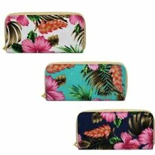 Canvas Floral Wallets for Women