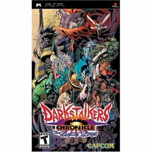 Darkstalkers Chronicle: The Chaos Tower For PSP UMD 6E