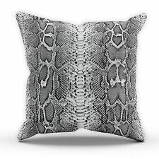 Snake Skin CUSHION Bedroom Girls Womens Cute Decoration Modern Home Chic