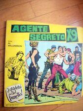 """GORDON n.34 - del 06-11-1965 + I QUADERNI del FUMETTO n.16 """"Agente Segreto X9"""""""