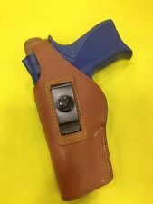 Leather Holster For Smith & Wesson 5906, 639 LEFT Hand - (#202L Brn)