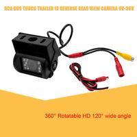 Auto Bus Rückansicht Rückfahrkamera CCD LKW 18 LED IR Nachtsicht RCA 9V-36V PAL