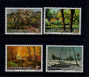 Luxembourg Postage Stamps 1982 Landscapes Set MNG VF+ (4v).