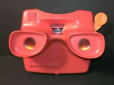 Vintage 3D VIEW MASTER Red Stereoscope Viewer
