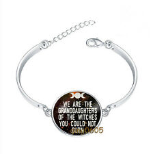 We Are The Granddaughters Bracelet Photo Glass Cabochon Tibet silver Bracelets