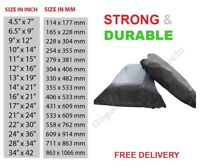 Poly Mailer Bags Grey Strong Postal Postage Post Mail Self Seal New Pack of 500