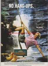 Wolverine Wilderness Durshocks Shoes 1995 Magazine Advert #7632