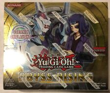 Yugioh Abyss Rising 1st Edition 24-count Booster Box Card Game TCG