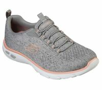 Skechers Women's Empire D'Lux Air Cooled Memory Foam Shoes Bungee Slip-On 12824