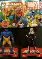 MARVEL HEROES LAMIN CARDS X20 LOOSE CARDS