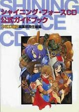 Shining Force CD Official Guide Book SEGA Genesis w/CD