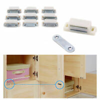 US 10pcs Magnetic Door Catches For Kitchen Cabinet Cupboard Wardrobe Latch White