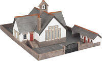 N Scale Village School - Metcalfe PN153 - F1