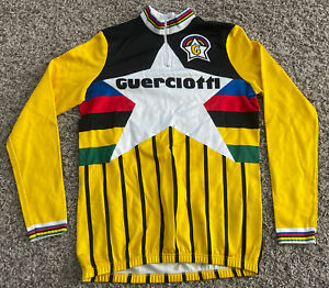 Vintage Guerciotti Cycling Sleeveless Tommaso Italy XXL L/S Jersey VTG