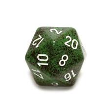 Chessex 34mm Single Jumbo Speckled Recon D20 1 Die 20 Sides CHX XS2089