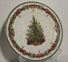 Christopher Radko Holiday Christmas Salad Plate