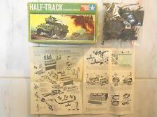 GMC M3A1 HALF-TRACK+9 FIGURES MONOGRAM 1966 1/24