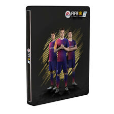 Xbox One Game EA Sports FIFA 18 2018 Steelbook Edition Football NEW