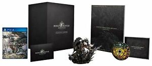 PS4 MONSTER HUNTER WORLD COLLECTOR'S EDITION Figure set Playstation Japan (NEW)