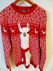 33 Degrees Women's Ugly Christmas Sweater Size XL