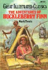 Great Illustrated Classics: The Adventures of Huckleberry Finn Hardcover NEW