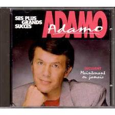 CD ADAMO Ses plus grands succes ++ Canada ++ Maintenant