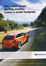 2013 Subaru XV Crosstrek Footprint Original Advertisement Print Art Car Ad J895