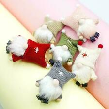 Plüsch Puppet Puppe Weihnachten Anhänger Ornament & String Hanging Ausgangs H0U2